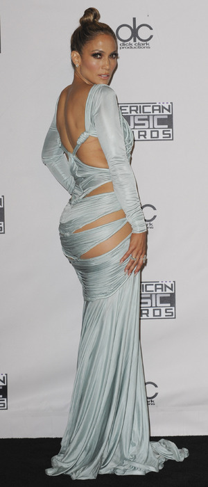 Jennifer Lopez (J.Lo) attends the American Music Awards in Los Angeles, 23rd November 2015