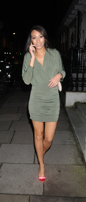 Love Island's Rachel Christie at the My Perfect Eyelashes launch party in London, 27th November 2015
