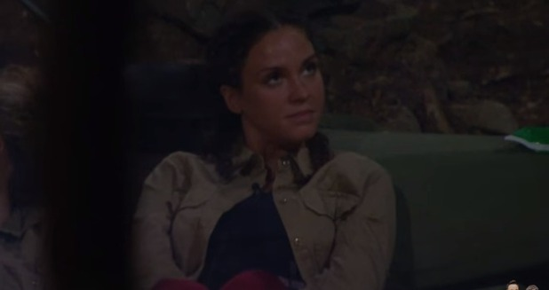 I'm A Celebrity: Vicky is angry with Brian 2015