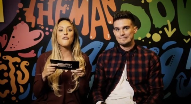 Geordie Shore's Gary Beadle and Charlotte Crosby reminisce on their relationship over the years on MTV, 24th November 2015