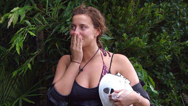 'I'm A Celebrity...Get Me Out Of Here!' TV Show, Australia - 24 Nov 2015 Bushtucker Trial - Floods of Fear: Ferne McCann