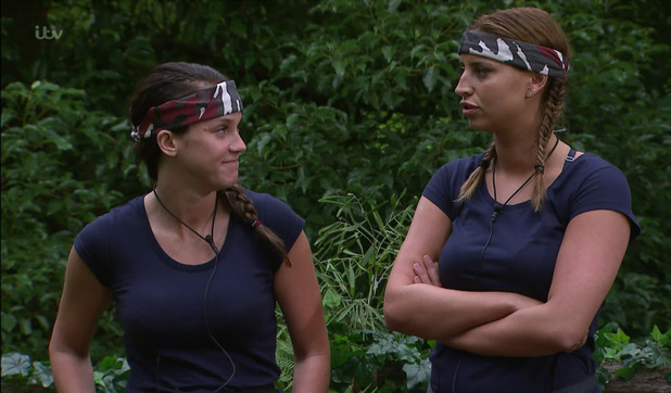Ferne McCann and Vicky Pattison ahead of trial, I'm A Celebrity 22 November