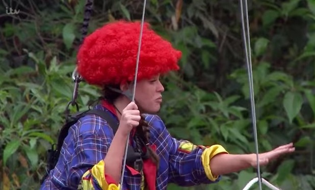 I'm A Celebrity...Get Me Out Of Here! Vicky Pattison's Bushtucker trial. 22 November 2015.