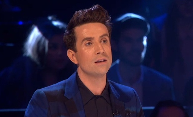 Nick Grimshaw on The X Factor, ITV 21 November