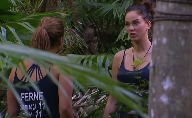 Vicky Pattison vents about Brian Friedman to Ferne McCann, I'm A Celebrity 24 November
