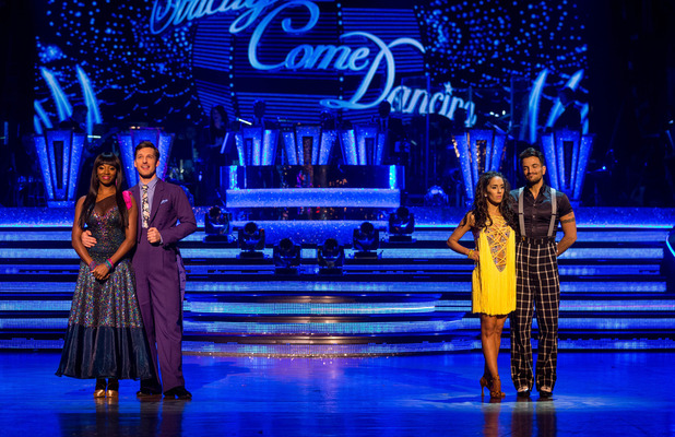Strictly Come Dancing 2015 - results show - 22 November 2015.