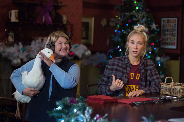EastEnders, Babe buys a Christmas goose, Mon 30 Nov