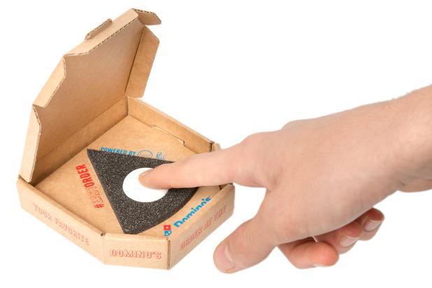 Domino's release Push for Pizza button