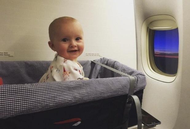 Harry Needs shares photo of daughter Summer on flight to Antigua
