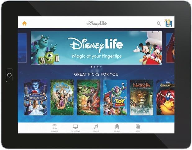 DisneyLife app.