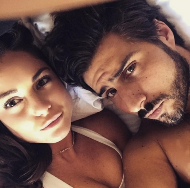 Louise Thompson and Alik Alfus selfie 25 November