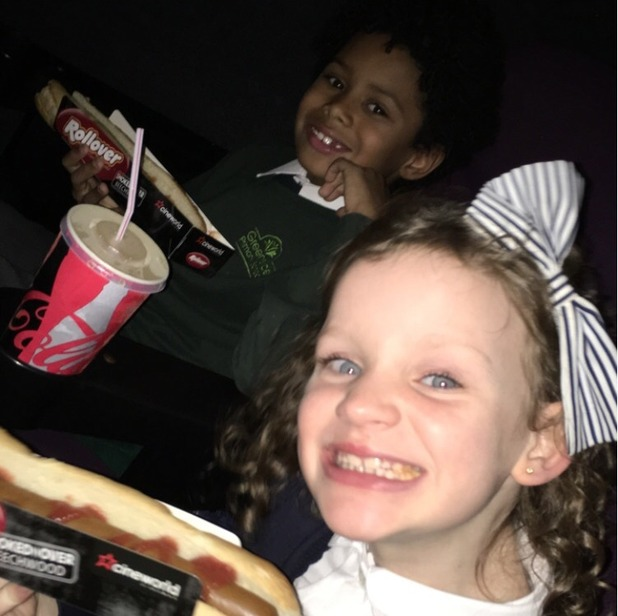 Brooke Vincent Blog: Cinema trip with Mylo and Daisy 26 November
