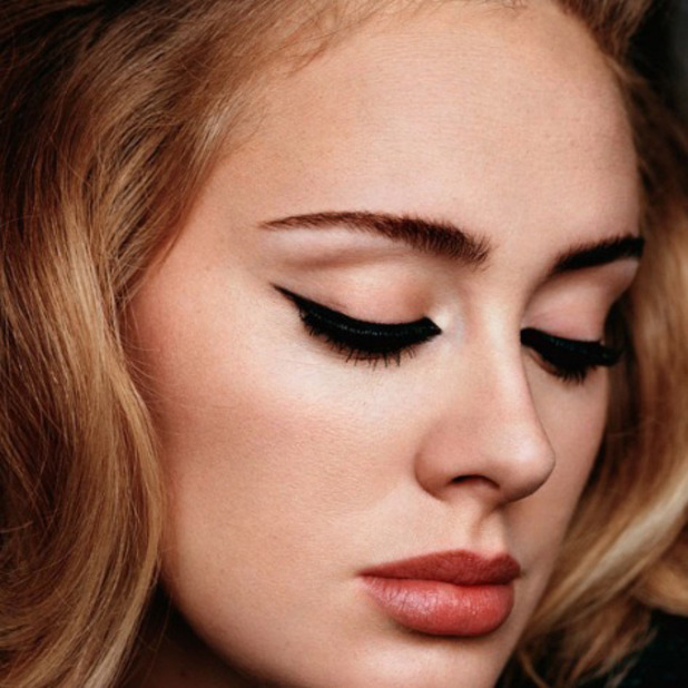 Adele shares selfie to Instagram account, 25th November 2015