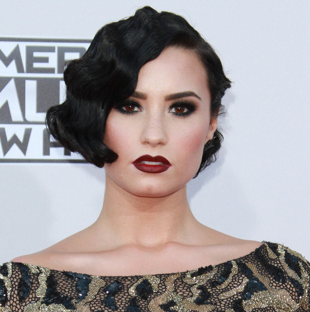 Demi Lovato attends the 2015 American Music Awards in Los Angeles, 23rd November 2015