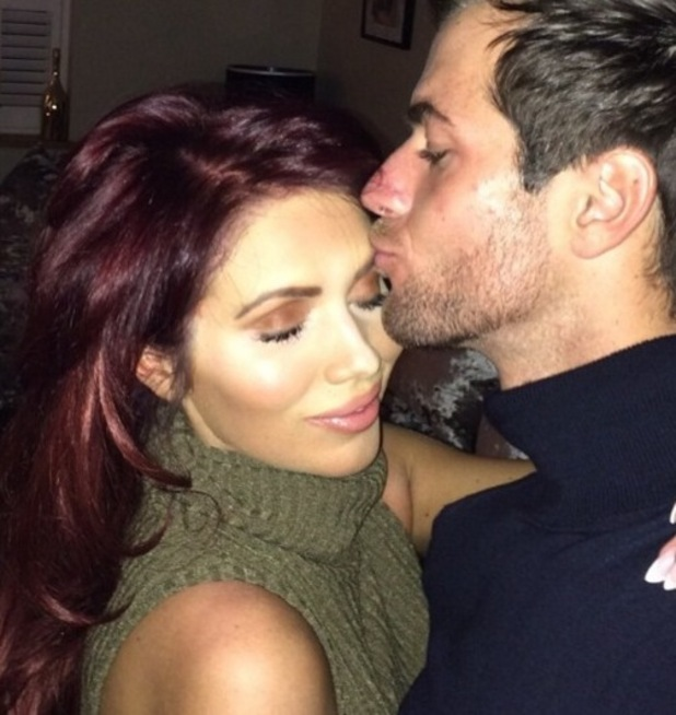 Amy Childs and new boyfriend Jay Hector 22 November