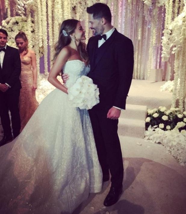 Sofia Vergara and Joe Manganiello marry, Palm Beach 22 November