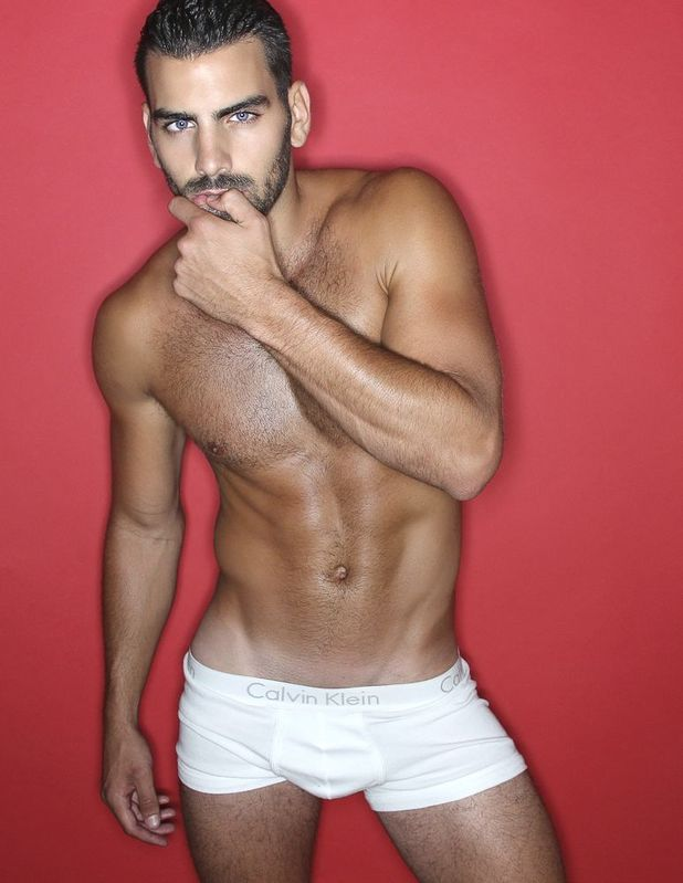Nyle DiMarco modelling shot