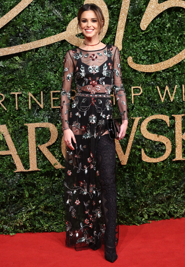 Cheryl Fernandez-Versini at The British Fashion Awards 2015 - 23 November 2015.