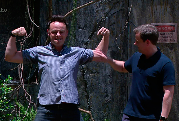 Ant & Dec after Lady Colin Campbell had refused to do the 'Scarier 51' Bushtucker Trial on 'I'm a Celebrity... Get Me Out of Here!' Broadcast on ITV1 HD.