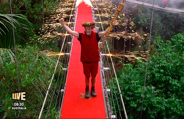 Carl Fogarty is crowned King of the jungle on 'I'm A Celebrity... Get Me Out Of Here! Final', Shown on ITV1 HD