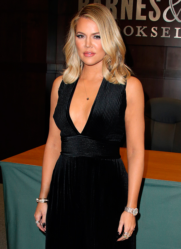 "Khloe Kardashian Signs And Discusses Her New Book ""Strong Looks Better Naked"" 2015"