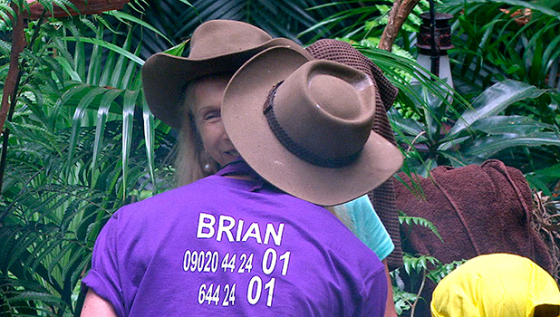 I'm A Celebrity... Get Me Out Of Here!' TV Programme, Australia - 27 Nov 2015 Camp Morning Story: Lady Colin Campbell and Brian Freidman