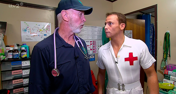 Joe Swash teams up with medic Bob for the day out on emergency calls on 'I'm A Celebrity... Get Me Out Of Here Now!', Shown on ITV2 HD