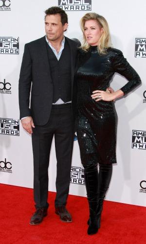 American Music Awards, Show, Los Angeles, America - 22 Nov 2015 Jeremy Sisto, Alicia Silverstone