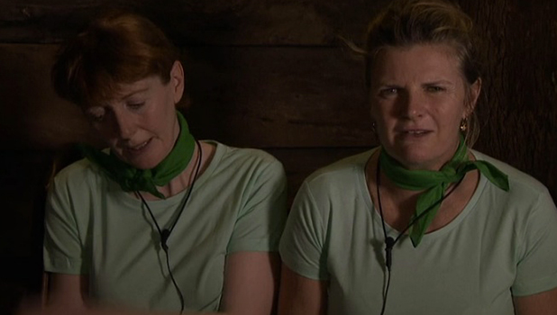 I'm A Celebrity: Lady C angers Yvette and Susannah in t-shirt row 26 Nov 2015