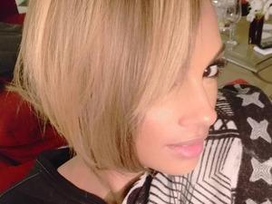 Alesha Dixon debates switching up her hair to a blonde, sexy crop