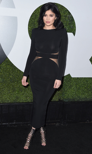 Kylie Jenner arrives at tbe GQ Men Of The Year Party at Chateau Marmont on December 3, 2015 in Los Angeles, California.