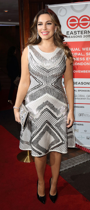 Kelly Brook at the Eastern Seasons Gala in London, 1st December 2015