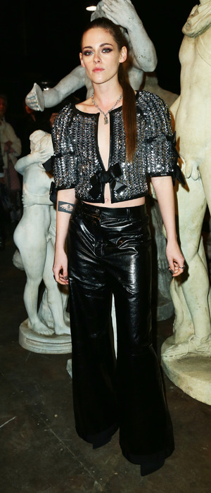 Kristen Stewart at the Chanel Metiers d'Art show, Rome, Italy