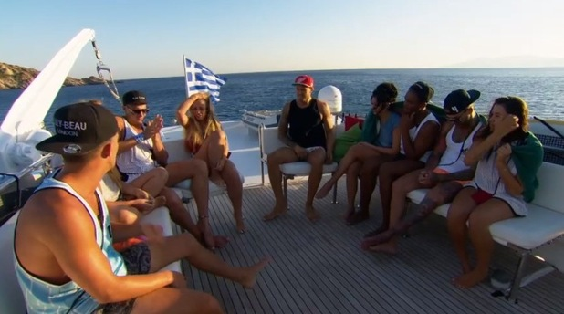 Geordie Shore cast tell Holly Hagan and Kyle Christie one person has to go, MTV 1 December