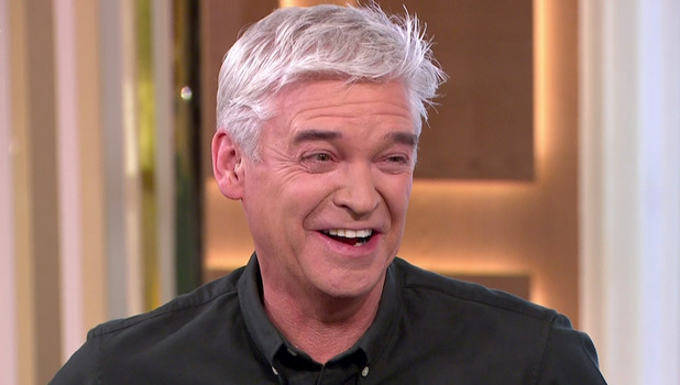 Phillip Schofield on This Morning - 18 November 2015.