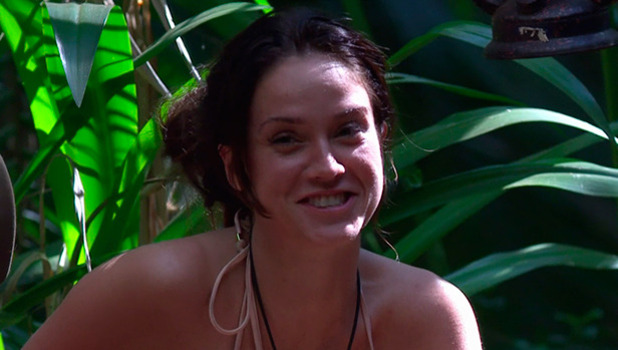 Vicky Pattison after she was named new camp leader, on 'I'm a Celebrity... Get Me Out of Here!' Broadcast on ITV1 HD.