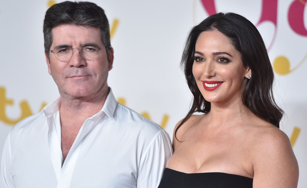 Simon Cowell and Lauren Silverman at ITV Gala, 19/11/15