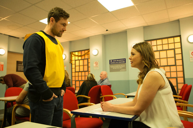 Corrie, Tracy visits Rob, Mon 7 Dec