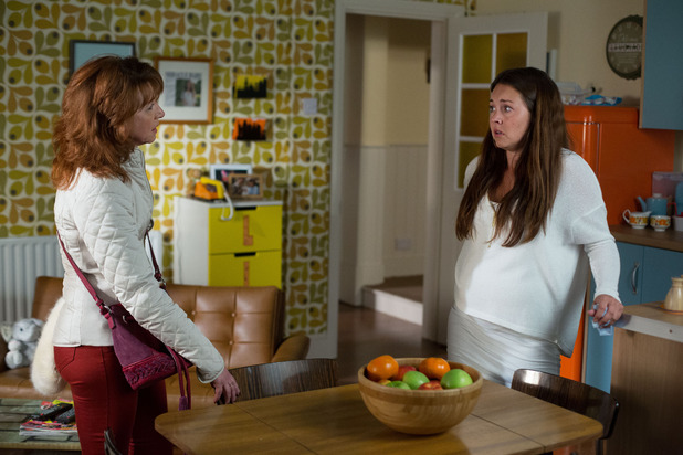 EastEnders, Carmel confronts Stacey, Thu 3 Dec
