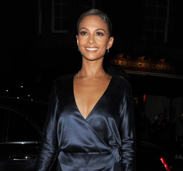Alesha Dixon leaving the Cosmopolitan Woman of the Year Awards 2015 - 2 December 2015.