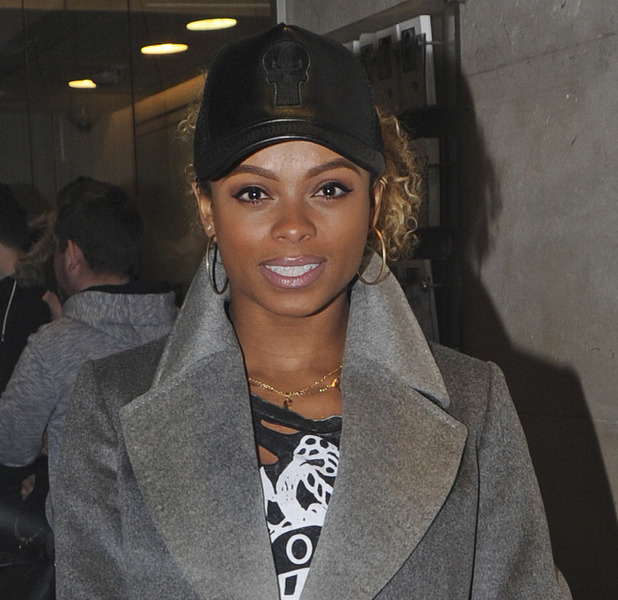 Fleur East pictured outside BBC Radio 1, 30th November 2015