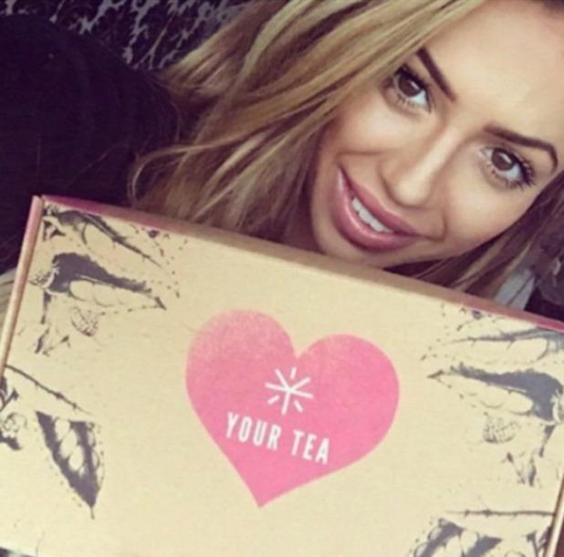 Holly Hagan, Your Tea selfie, 27 November 2015