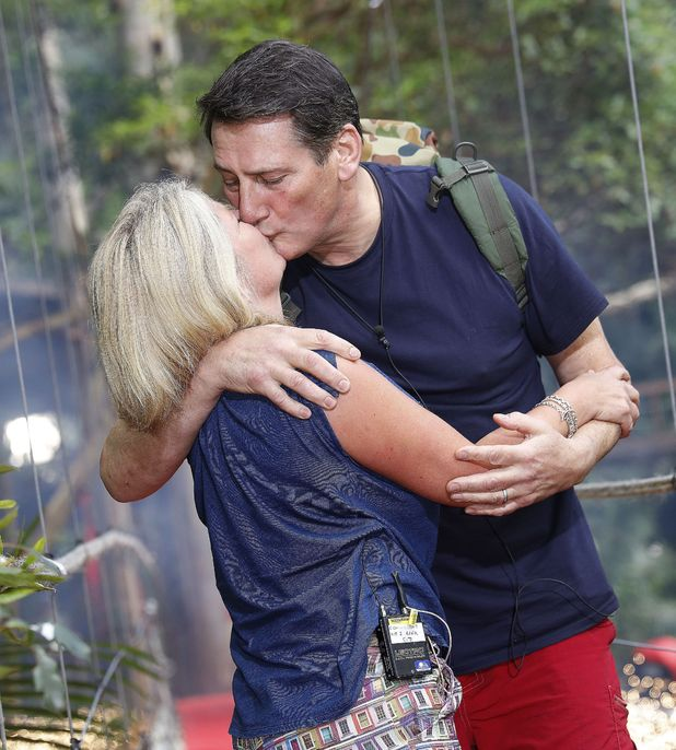 Tony Hadley greeted by wife Alison after voted off I'm A Celebrity...Get Me Out Of Here!, 4/12/15