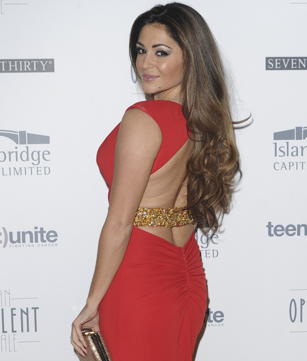 Casey Batchelor attends Teens Unite Fighting Cancer presents 'An Opulent Tale' charity gala at Banking Hall 20 November