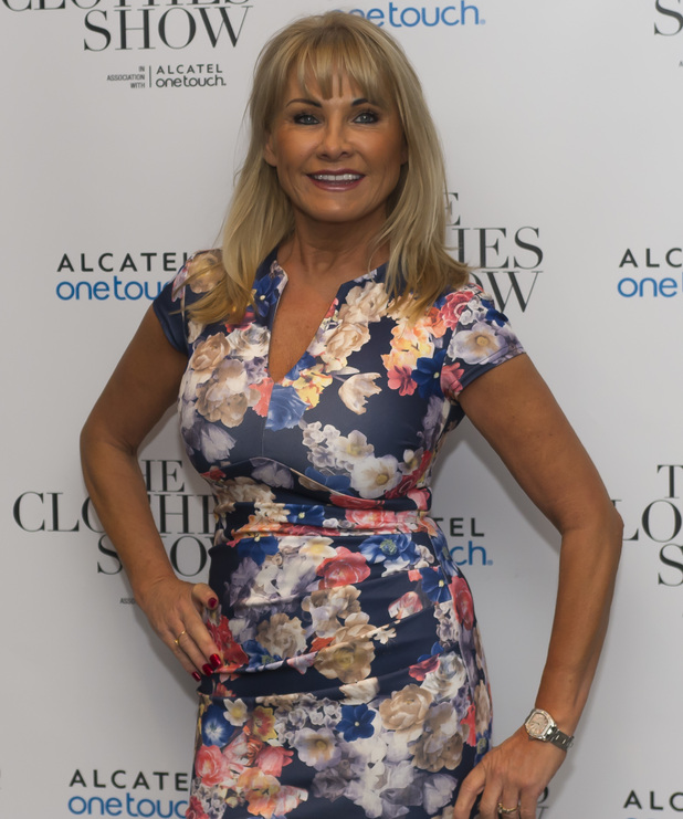 TOWIE's Carol Wright attends The Clothes Show - Day 1 at the NEC Birmingham, 4 December 2015