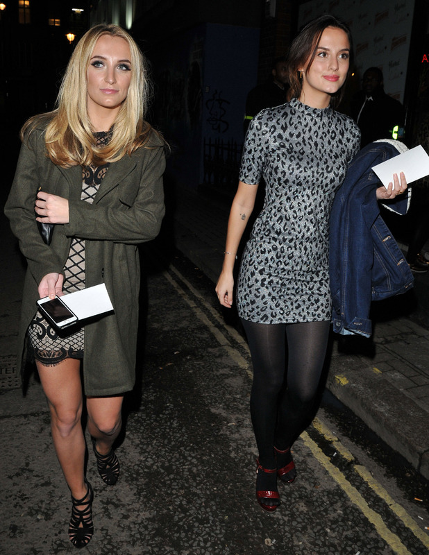 Made in Chelsea's Tiffany Watson andLucy Watson attend Lilah Parsons X Yumi clothing launch party, 2nd December 2015