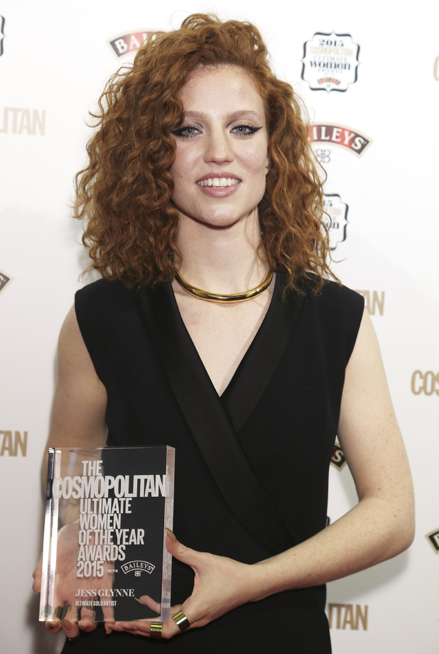 Jess Glynne at the Cosmopolitan Ultimate Women Awards 2015 with Baileys at One Mayfair, London. 2 December 2015.