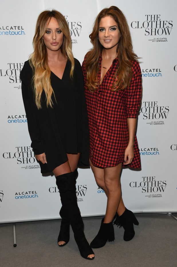 The Clothes Show - Day 2 - NEC Birmingham Charlotte Crosby and Binky