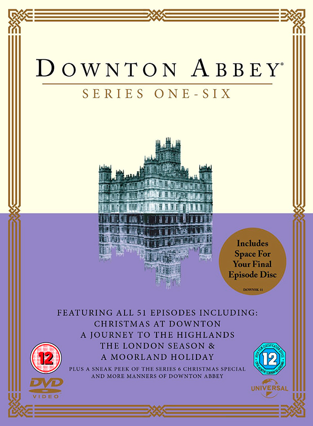 Downton Abbey series one to six, 2015