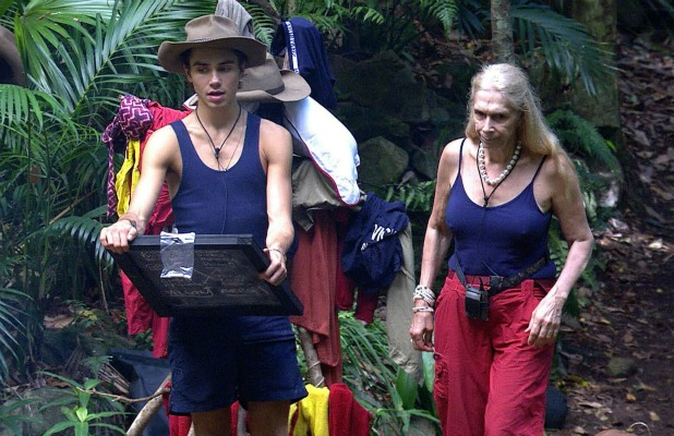 'I'm A Celebrity...Get Me Out Of Here!' TV show, Australia - 30 Nov 2015 George Shelley and Lady Colin Campbell